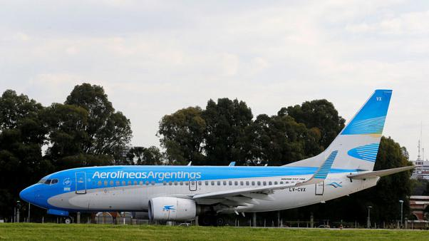 Argentina government-controlled airline cancels Wednesday flights due to strike