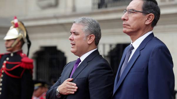 Peru and Colombia call for more aid to help with Venezuelan migratory crisis