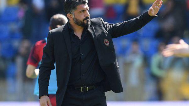 مصدر: ميلانو سيعلن رحيل المدرب جاتوسو عن منصبه