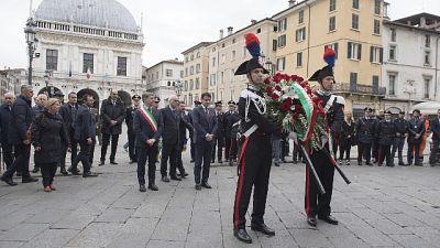 Piazza Loggia: commemorazione a Brescia