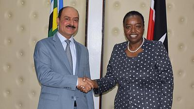 Prime Minister and Minister of Foreign Affairs Sends Message to Kenyan Foreign Minister