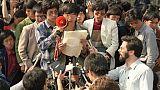 L'écrasement du printemps de Pékin revécu par le dissident Wang Dan