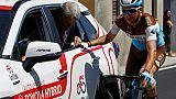 Tour d'Italie: abandon de Tony Gallopin (AG2R)