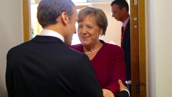Merkel and Macron spar in EU hunt for 'Mr or Ms Europe'