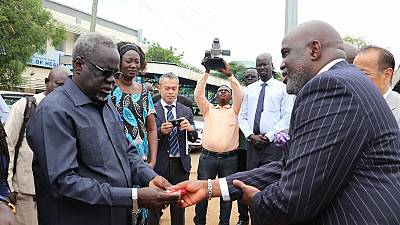 The Government of Japan and WHO donate six ambulances to boost health service delivery in South Sudan