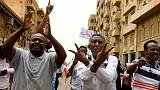 Sudan's opposition observes first day of strike, military says communication not suspended
