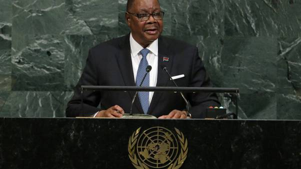 Malawi's Mutharika calls for unity after fractious presidential election