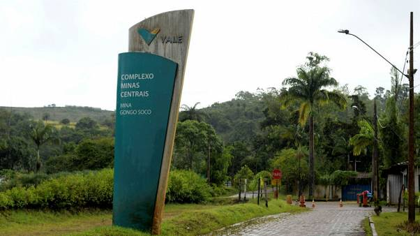 Brazil's Vale says risk of dam break at Gongo Soco mine has diminished
