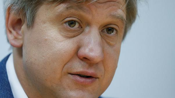 Ukraine president names ex-finance minister Danylyuk as top security official