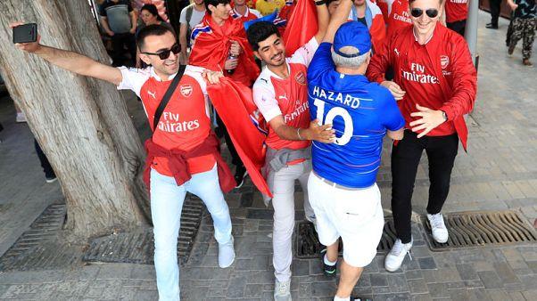 Baku or bust: Fans defy high prices to trek to Europa League final