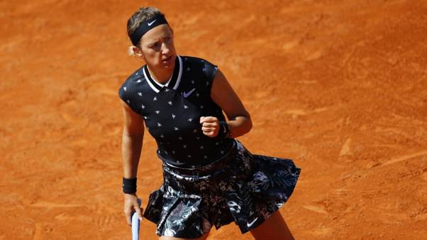 Former French Open champion Ostapenko blows out in first round again