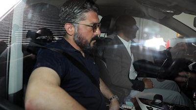 Gattuso non e' piu' il tecnico del Milan