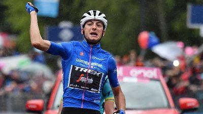 Giro: Ciccone trionfa a Ponte di Legno