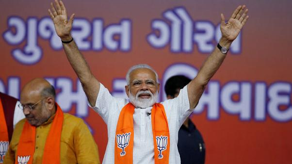 Modi's party consolidates big Indian vote win with opposition defections