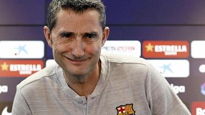Barça, esonero Valverde non è imminente