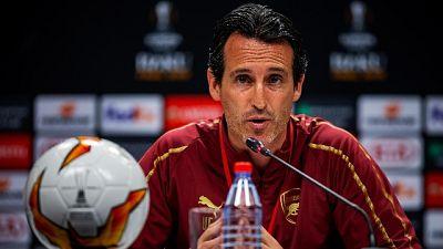 Europa League: Emery 'voglio il trofeo'