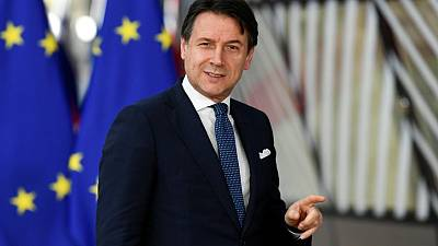Italian PM says reviewing ECB mandate to guarantee public debt is an open dossier