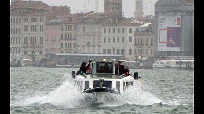 Ancora maltempo, forte temporale Venezia