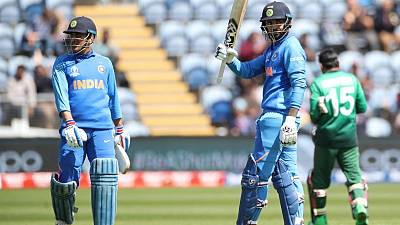 Rahul answers India's number four conundrum with Cardiff ton