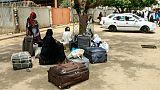 Grève générale au Soudan: voyageurs, entreprises et presse bloqués