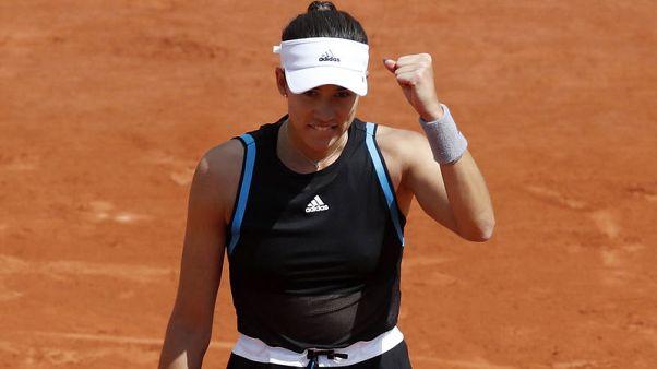 موجوروزا تتأهل بسهولة للدور الثالث في فرنسا المفتوحة