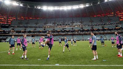 Europa League: incidenti a Baku,2 feriti