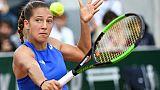 Roland-Garros: Fin de l'aventure pour Diane Parry