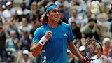 Roland-Garros: Tsitsipas souffre mais se qualifie pour le 3e tour