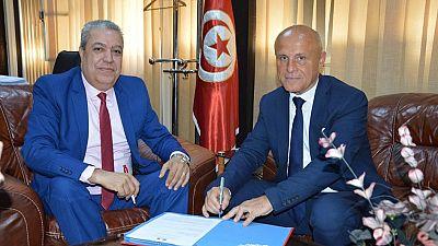Signature de la « Convention cadre de partenariat » entre l'Ambassade de France en Tunisie et radio RTCI