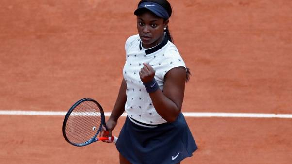 Stephens fully committed to new coach at Roland Garros