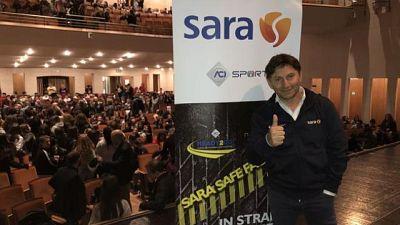 Sara Safe Factor 'corre' a La Sapienza
