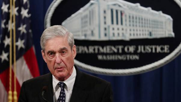 "U.S. Special Counsel Mueller says charging Trump was ""not an option"""
