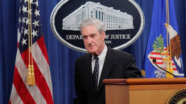 Mueller says charging Trump was never an option for Russia probe