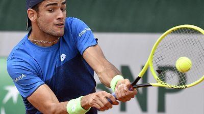 Tennis:Parigi, Berrettini cede a Ruud