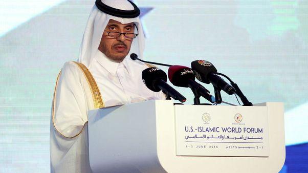 رئيس وزراء قطر يزور السعودية لحضور قمة خليجية طارئة