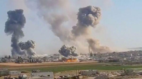 EU calls on Russia, Turkey, Iran to protect civilians in Idlib