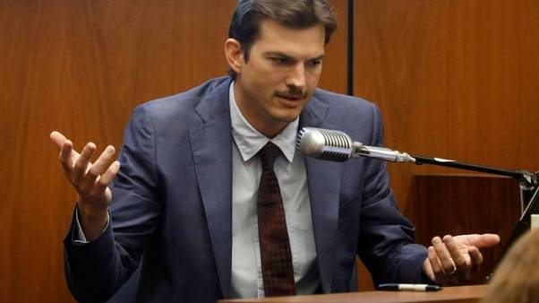 Ashton Kutcher 'freaking out' after date found slain, Los Angeles court told