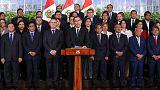 Peruvian president threatens to dissolve Congress unless anti-graft reforms passed