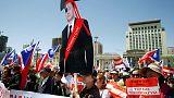 آلاف يحتشدون في منغوليا مطالبين بتنحي الحكومة