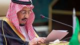 Saudi Arabia says firm stand needed to deter Iran, Iraq demurs