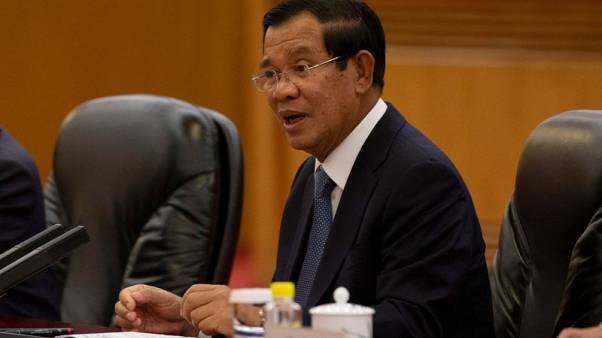 Cambodia PM dismisses fears of Chinese debt trap