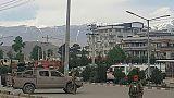 L'armée afghane sur les lieux d'un attentat à Kaboul, le 30 mai 2019