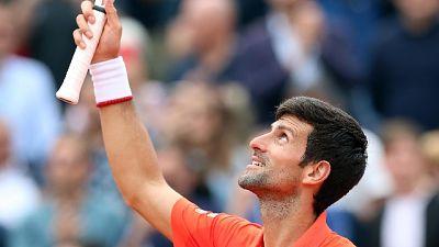 Roland Garros: Djokovic ok, ora Caruso
