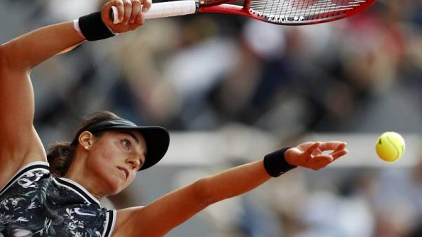 French presence in women's singles ends with Garcia defeat