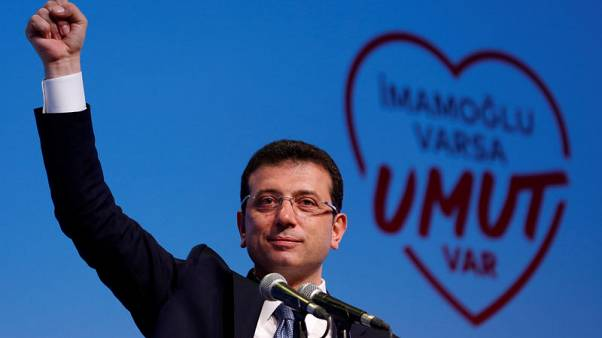 استطلاعات رأي تظهر تقدم مرشح المعارضة في انتخابات بلدية اسطنبول