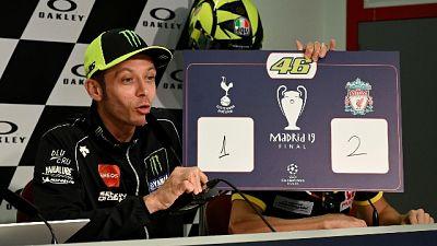 Champions:piloti MotoGP votano Liverpool