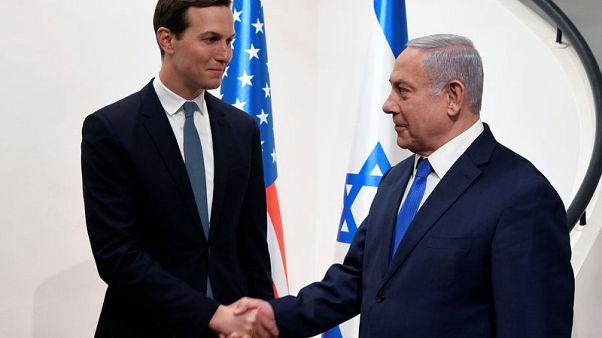Kushner, in Jerusalem to push peace plan, faces new political hurdle