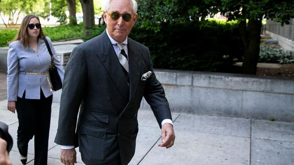Ex-Trump adviser Stone faces uphill battle in quest to dismiss indictment
