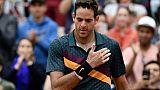 Roland-Garros: Del Potro passe sur des œufs au 3e tour