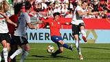 Germany beat Chile 2-0 in final women's World Cup warmup